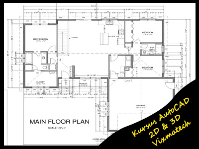 Autocad sample projects autocad sample drawings for Autocad floor plan samples